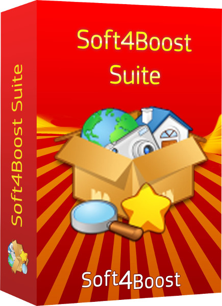 Click to view Soft4Boost Suite 4.8.1 screenshot