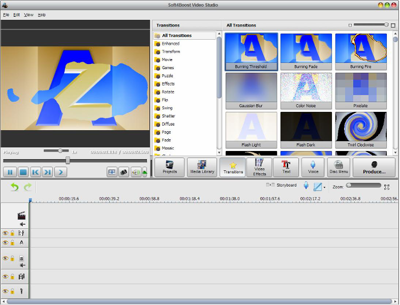 Click to view Soft4Boost Video Studio 3.4.9.595 screenshot