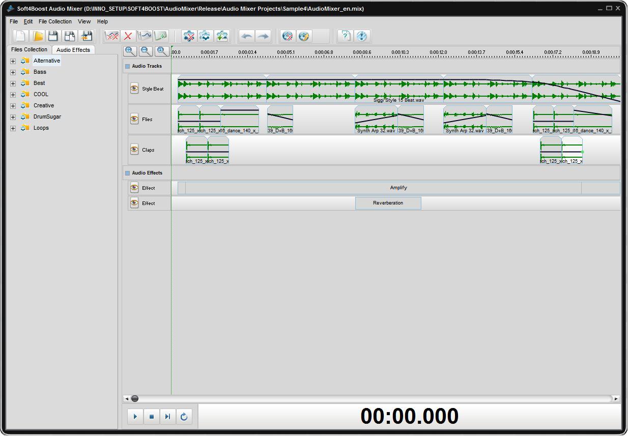 Soft4Boost Audio Mixer Resimler