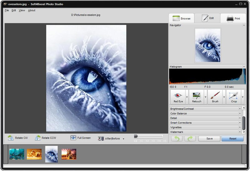 Click to view Soft4Boost Photo Studio 7.4.1.297 screenshot